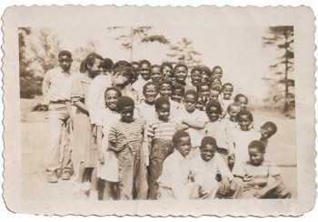School photo from the Long Ridge School