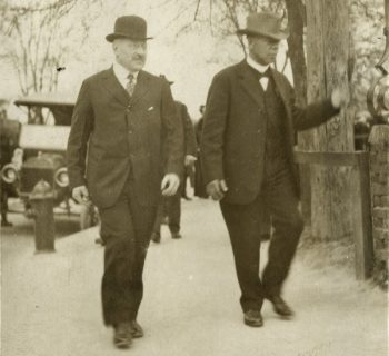 Julius Rosenwald and Booker T. Washington